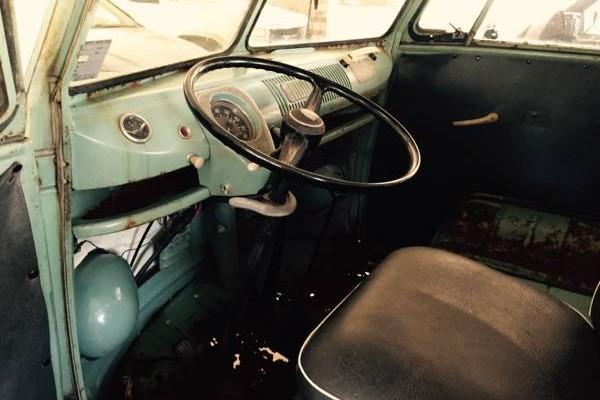 '64 EZ Camper front seat