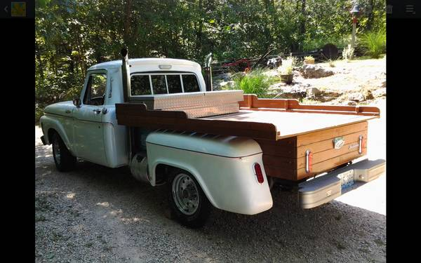 Gmc Truck For Sale >> Ratted Out: Custom 1965 Ford Truck