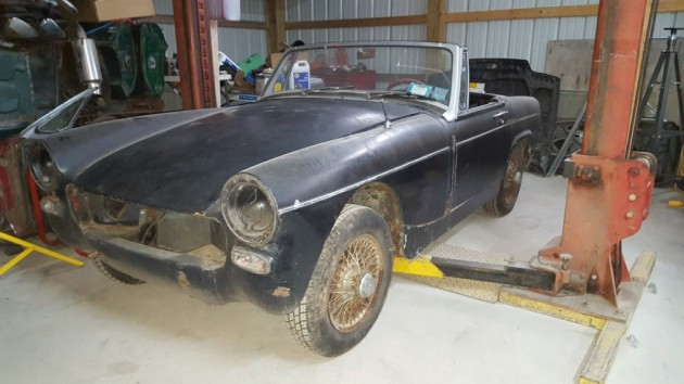 Think Small: 1965 MG Midget Project