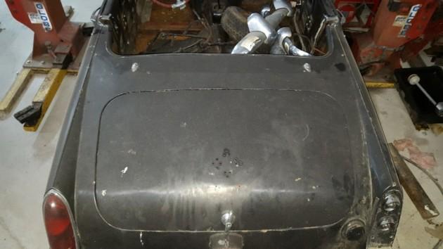 '65 Midget rear