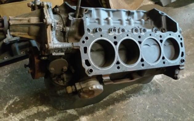 '66 Sunbeam engine