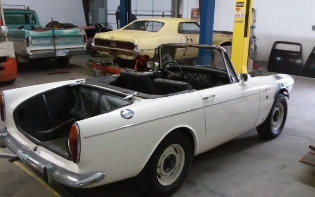 '66 Sunbeam rear right