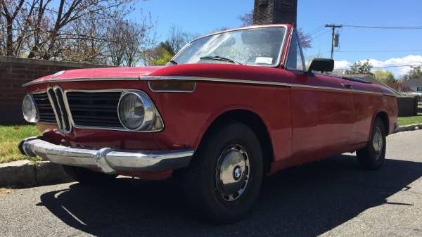 Drop Top: 1969 BMW 1602 Baur Cabriolet