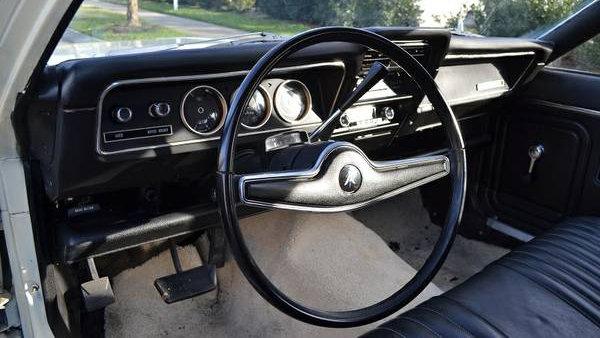 71 AMC Hornet Sportabout Interior