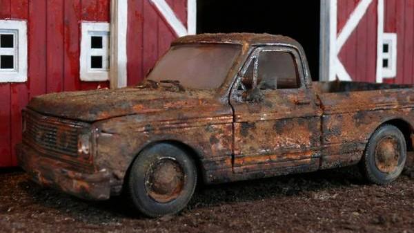 Crusty Chevrolet Cheyenne!