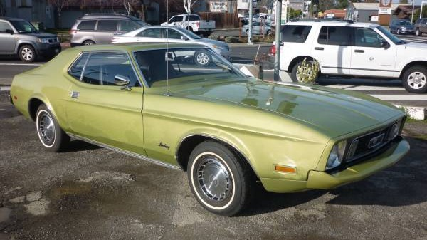 73 Mustang Front 3