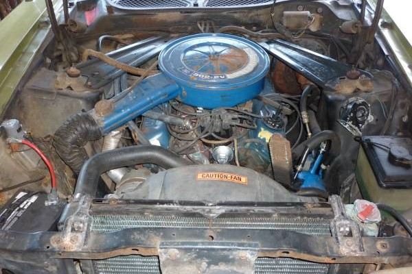 73 Mustang engie