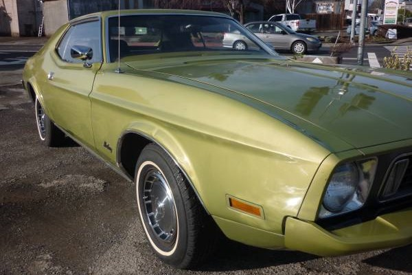73 Mustang front sid