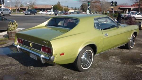 73 Mustang rear 3