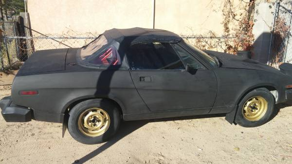 '79 TR7 right side