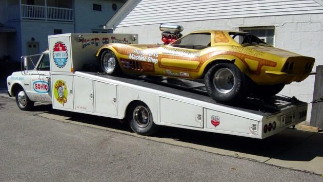 Corvette Funny Car