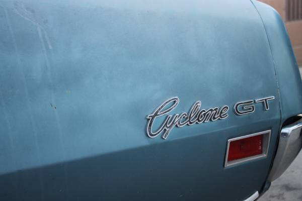 Cyclone GT emblem