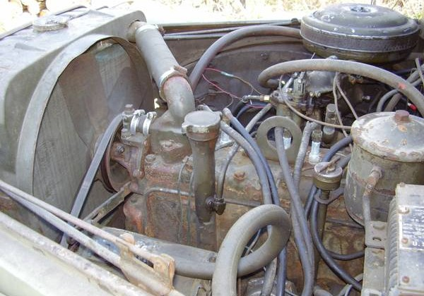 Dodge M37 engine