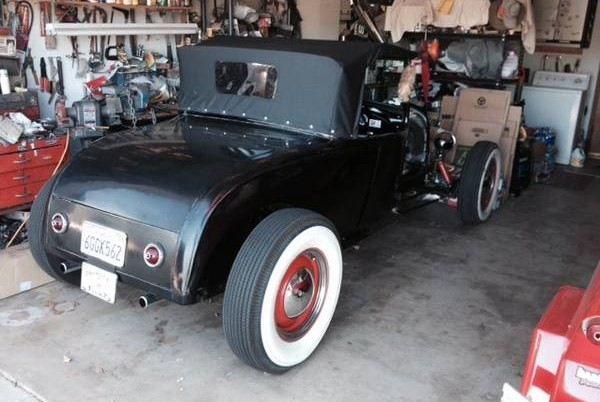 possibly period 1928 ford hot rod. Black Bedroom Furniture Sets. Home Design Ideas