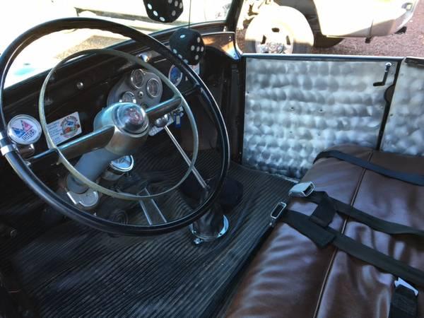 Hot rod interior