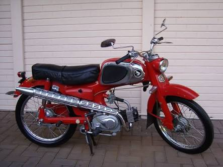 Rare But Cheap 1967 Honda Ss50