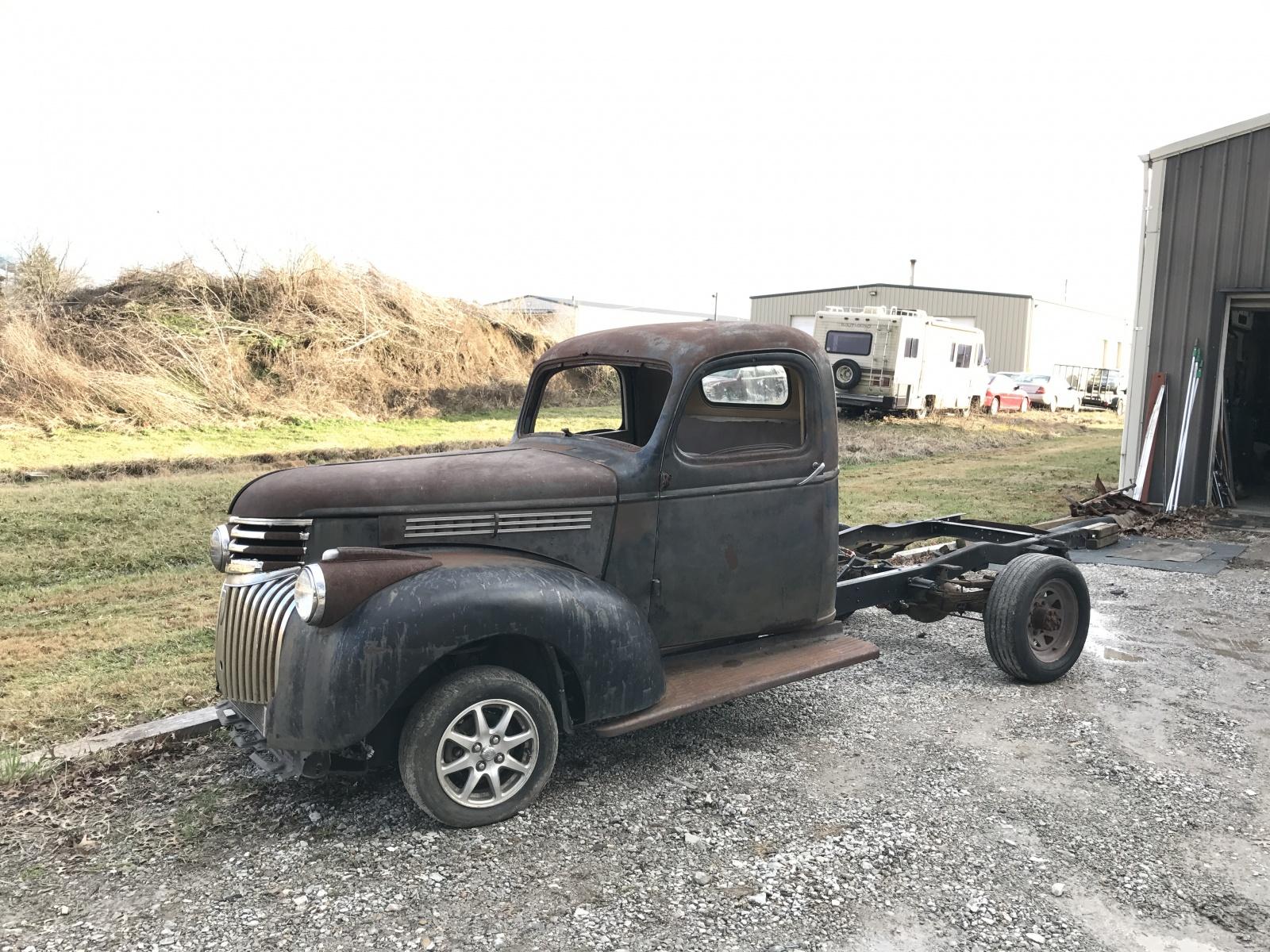 a true hybrid toyota powered 1946 dodge truck. Black Bedroom Furniture Sets. Home Design Ideas