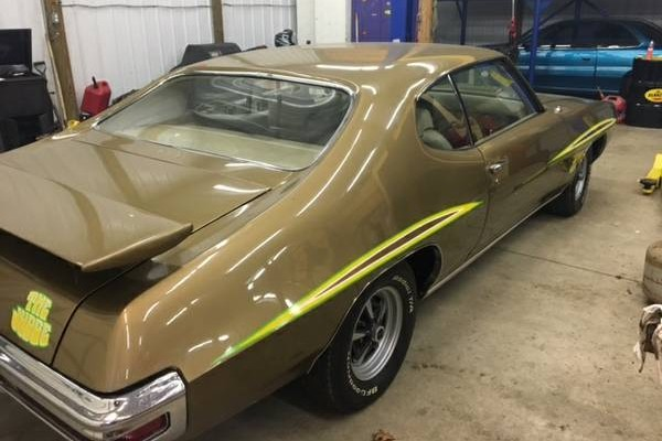 1970 GTO Judge Ram Air With 120 Miles!