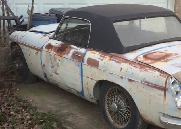 1967 MGC Roadster Sighting