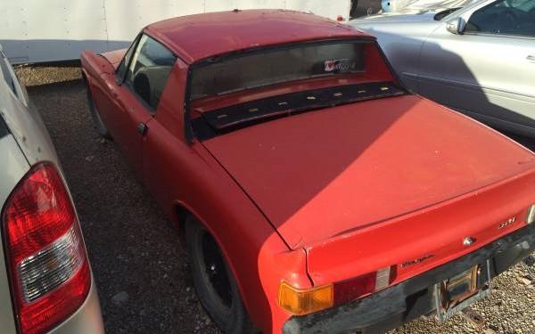 Porsche 914 rear 3