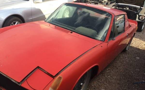 Porsche 914 top