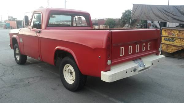 big red wagon 1969 dodge w100 power wagon. Black Bedroom Furniture Sets. Home Design Ideas