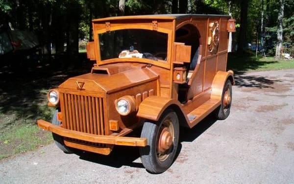 Real Woodie Wagon