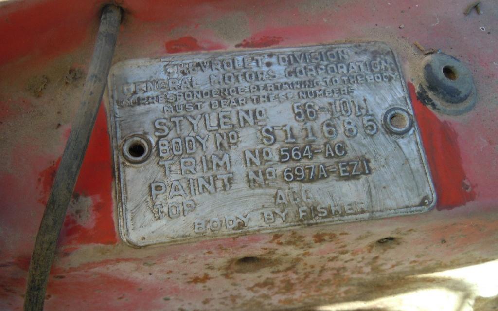 Factory Air 1956 Chevrolet 210
