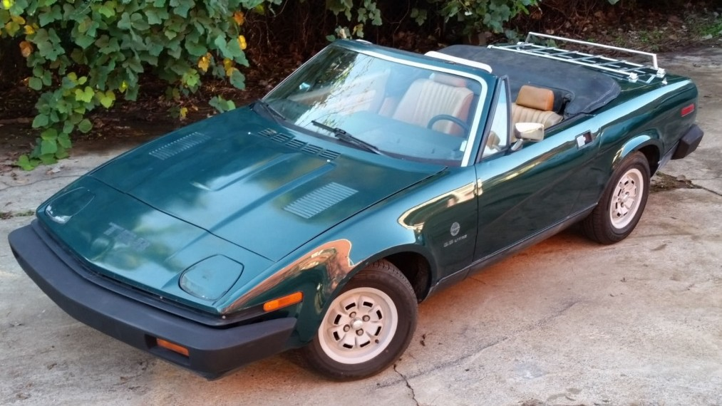 I Should Be Buying This 1980 Triumph Tr8 Convertible