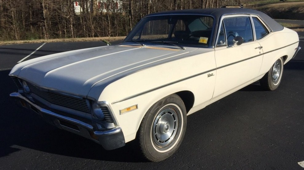 Used Car Auctions >> Clean One-Family Car: 1971 Chevrolet Nova