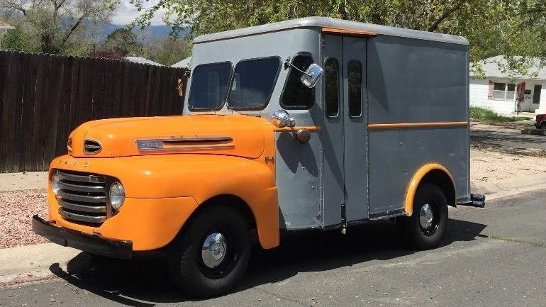"""Ford Trucks 2016 >> It's A """"Happy"""" Truck: 1950 Ford Bread Truck"""