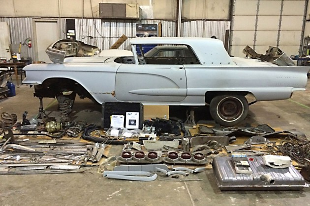 Stalled Project 1960 Ford Thunderbird