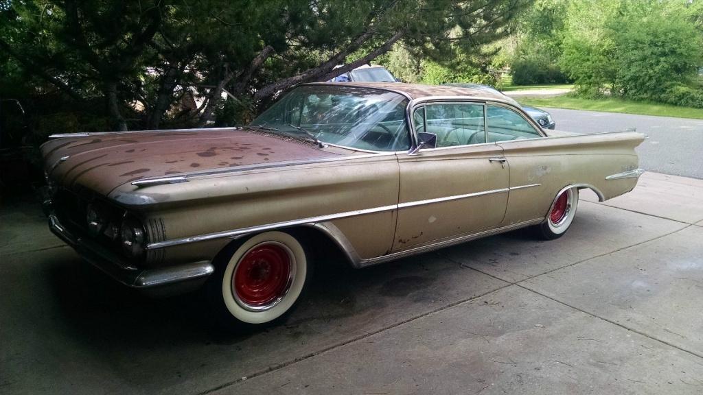 Storage Lost 1959 Oldsmobile 98