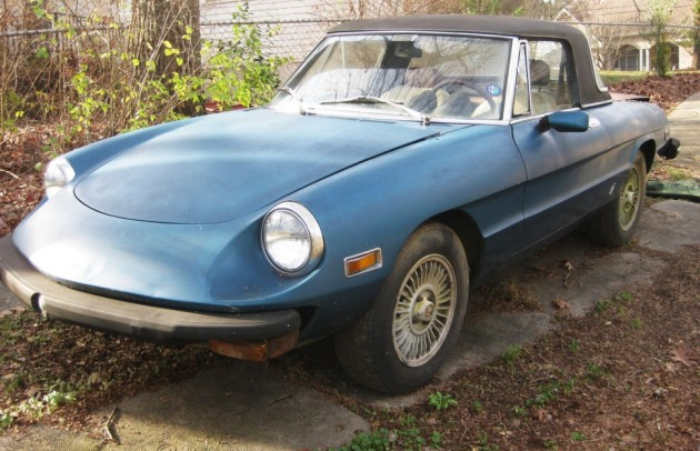 Twin Del'Ortos: 1976 Alfa Romeo Spider