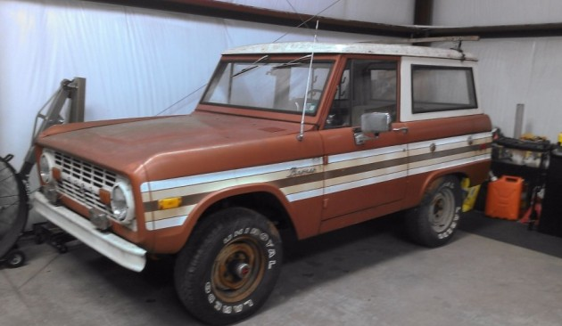 Never Left Home 1976 Ford Bronco