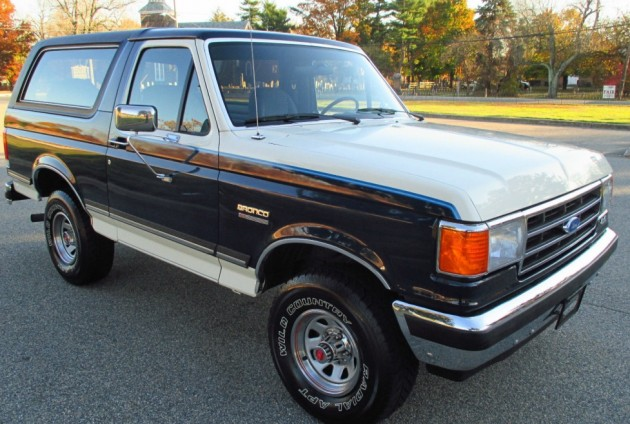 We Love Ford S Past Present And Future 1989 Ford Bronco Xlt Factory 4 Speed