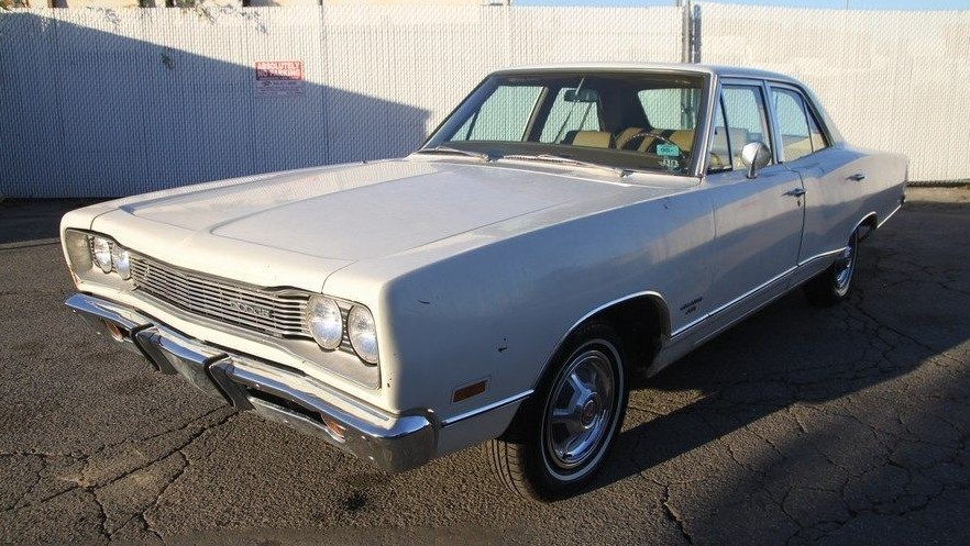 Four Door Donation 1969 Dodge Coronet 440