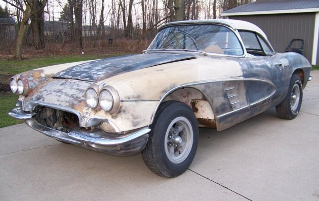 1961 Chevrolet Corvette Project Car For Sale: Worthwhile Project? 1961 Chevrolet Corvette