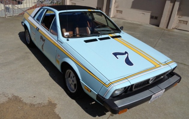 Herbie's Girlfriend: 1976 Lancia Scorpion