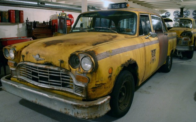 Movie Cab 1982 Checker Marathon
