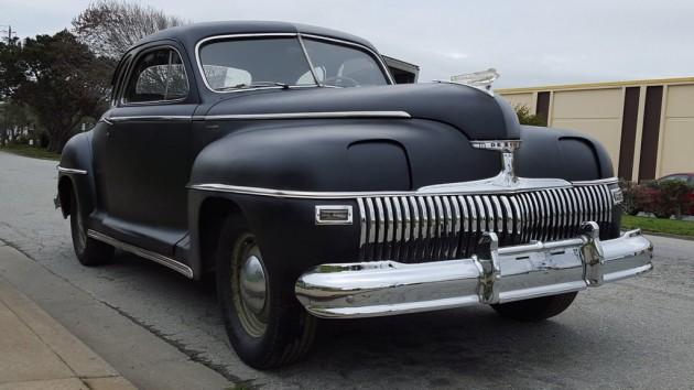 Early Hidden Headlamps! 1942 DeSoto Club Coupe