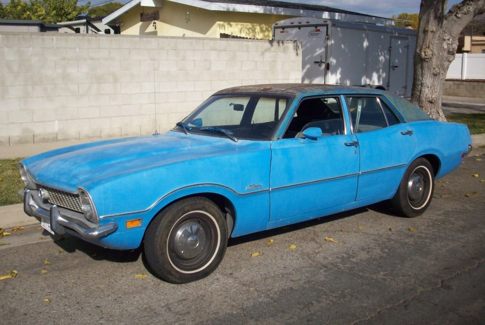 Plain But Nice: 1972 Ford Maverick