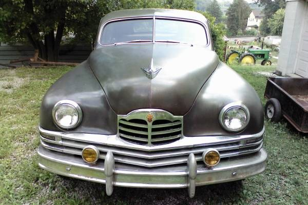 Time Capsule: 1948 Packard 8 Sedan