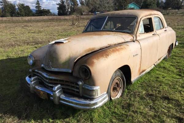 Craigslist Old Cars For Sale >> This Is A $200 Car: 1948 Kaiser Manhattan