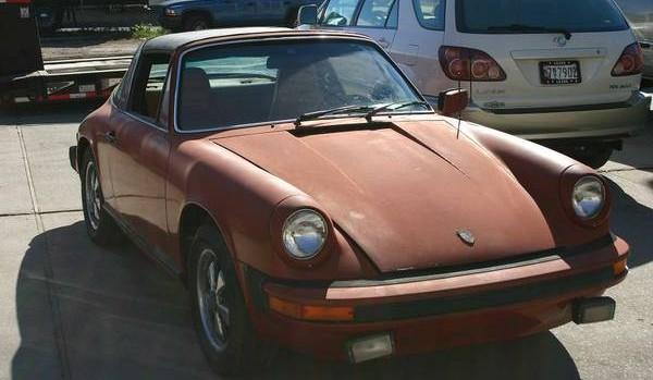 1977 Porsche  911 Targa For $15,000!