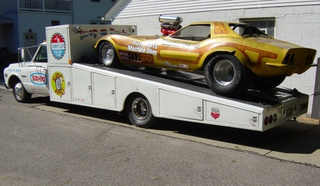 Corvette Funny Car: Cameo Chassis