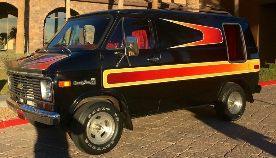 1977 Chevrolet G20 Van Shag Survivor