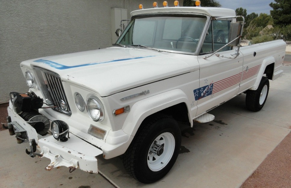 Ready for Battle: 1970 Jeep Gladiator