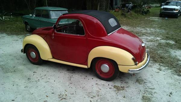 Mickey Mouse Car: 1953 Fiat 500C Topolino