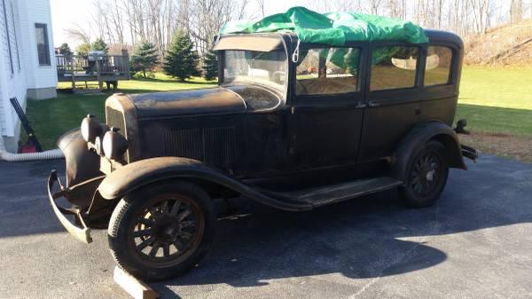 Solid Steel 1930 Plymouth Sedan